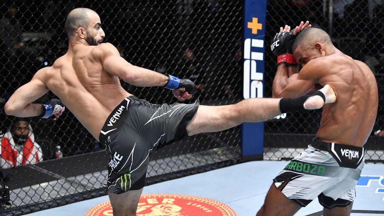Chikadze Stops Barboza at UFC Fight Night