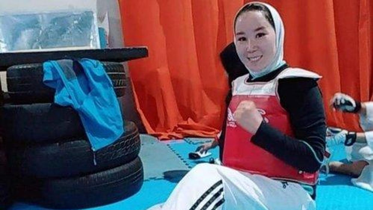 Afghan Paralympic TKD Player