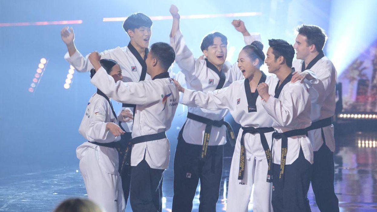 World Taekwondo Demo Team Barely Advances on AGT