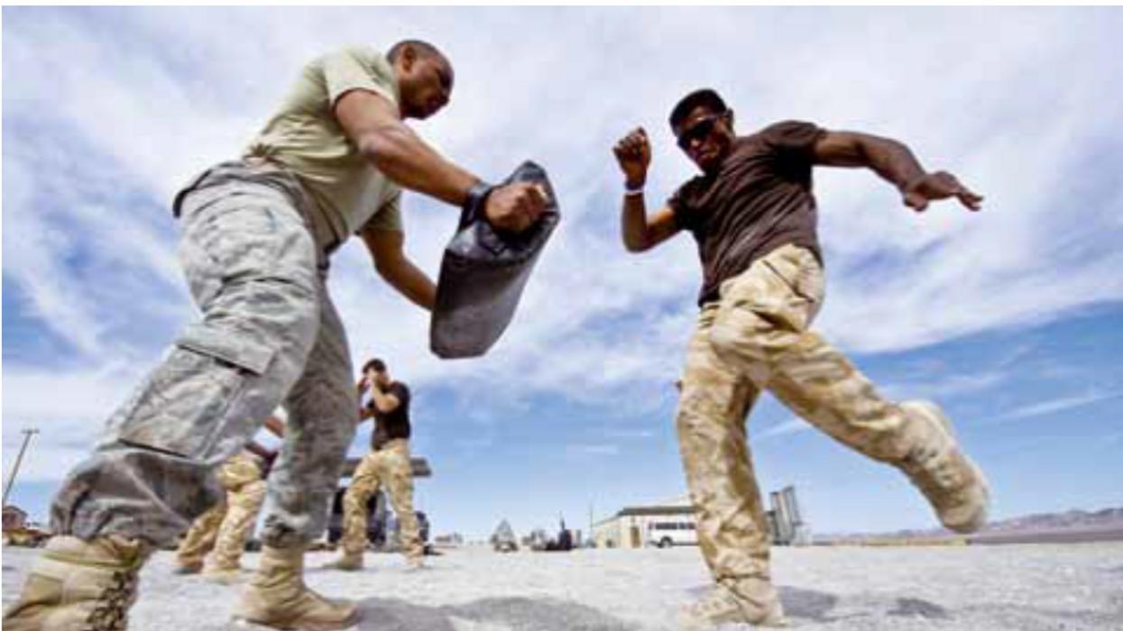 Military Martial Arts Training
