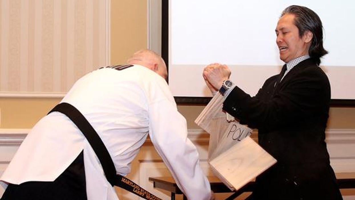 Governor Hogan Taekwondo