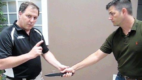 Matt Larsen Shows You Self-Defense Moves Against a Knife Attack
