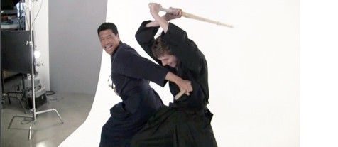 Korean Martial Arts Weapons Video: Y.D. Kim Demonstrates Short Sticks vs. Bamboo Sword (Part 1)
