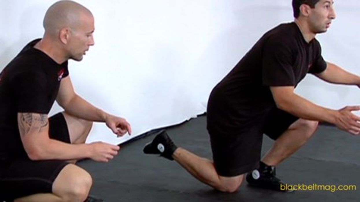 Airborne Lunges From Scott Sonnon's Ultimate Conditioning Program for Kickers