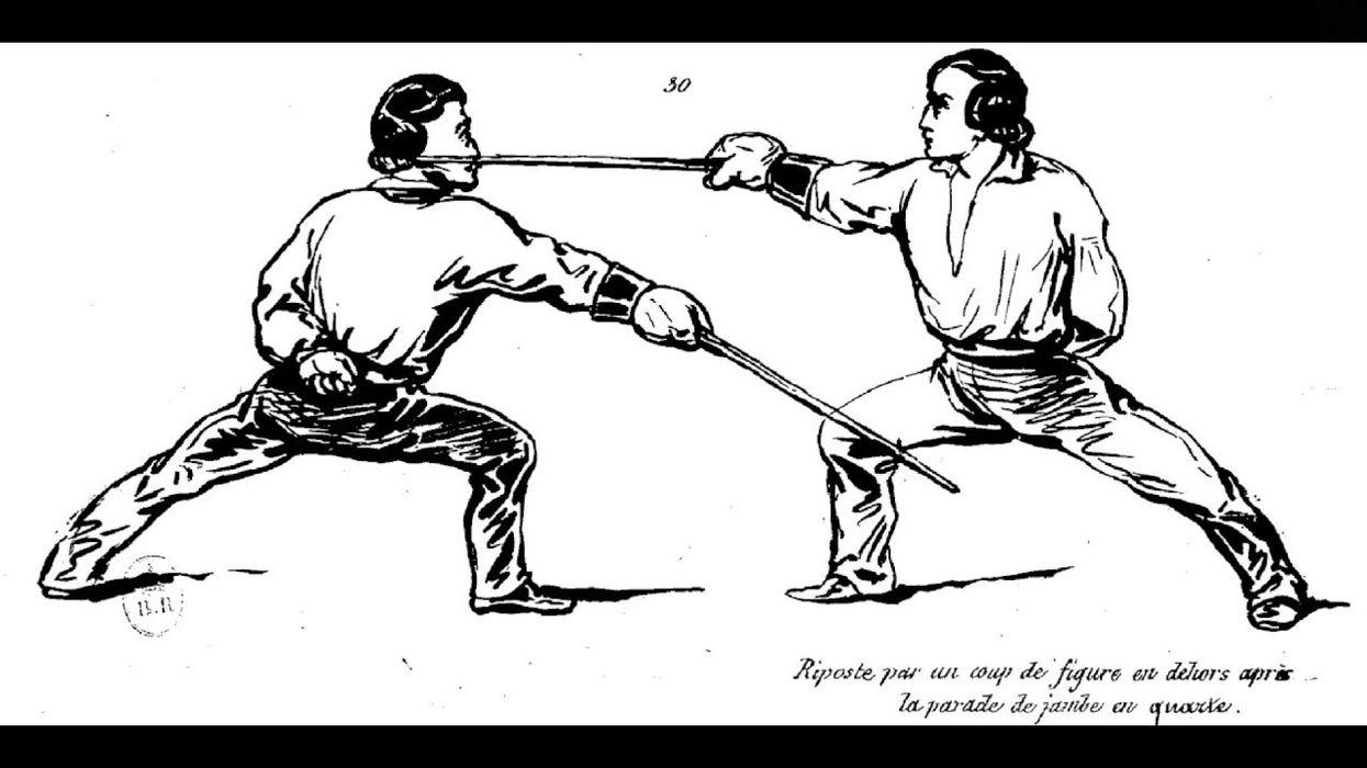 La Canne: Savate's Walking-Stick Weapon Art