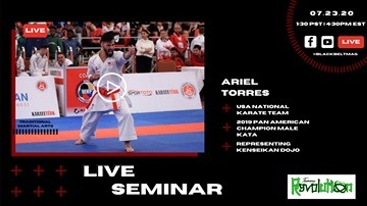 Live Karate Seminar with Ariel Torres