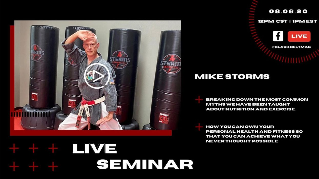 Live Nutrition and Exercise Seminar with Mike Storms