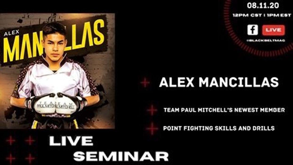Live Point Fighting Seminar with Alex Mancillas