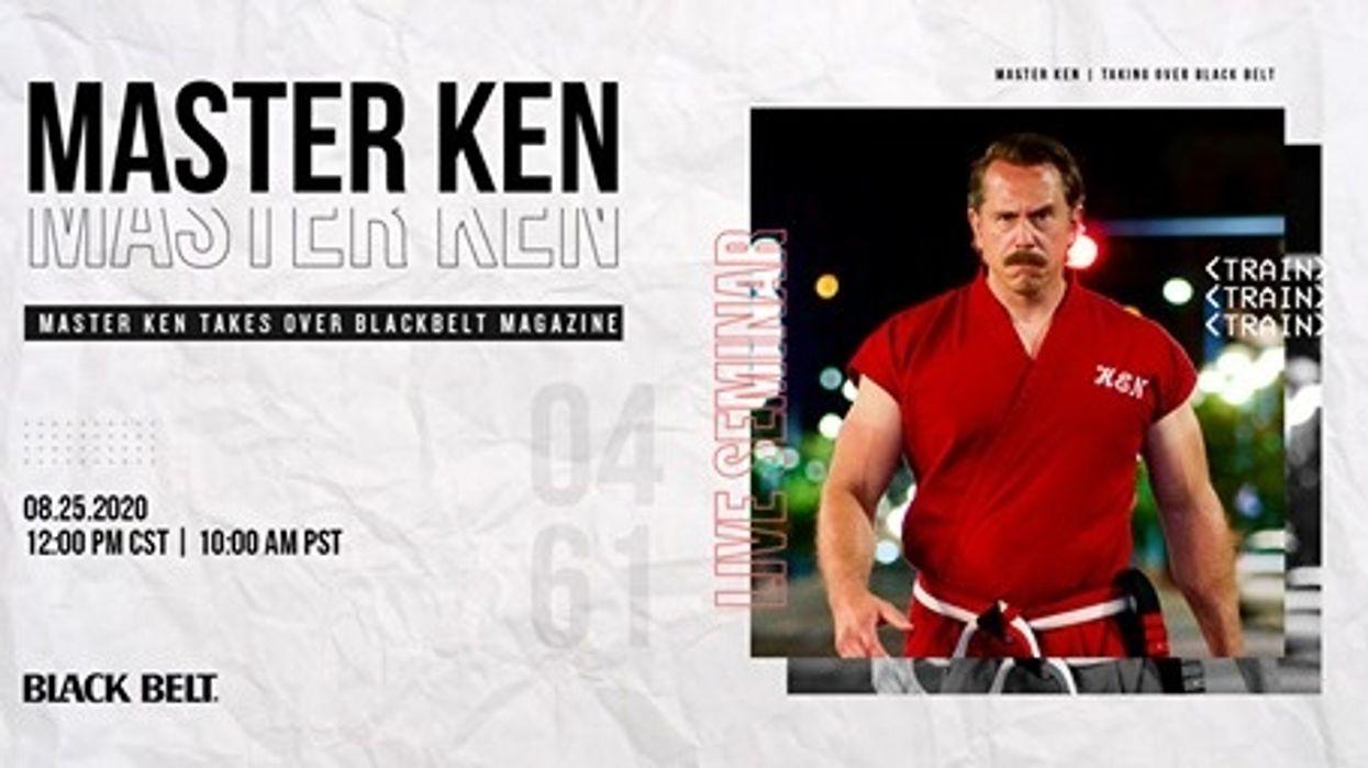 Live Facebook Takeover with Master Ken