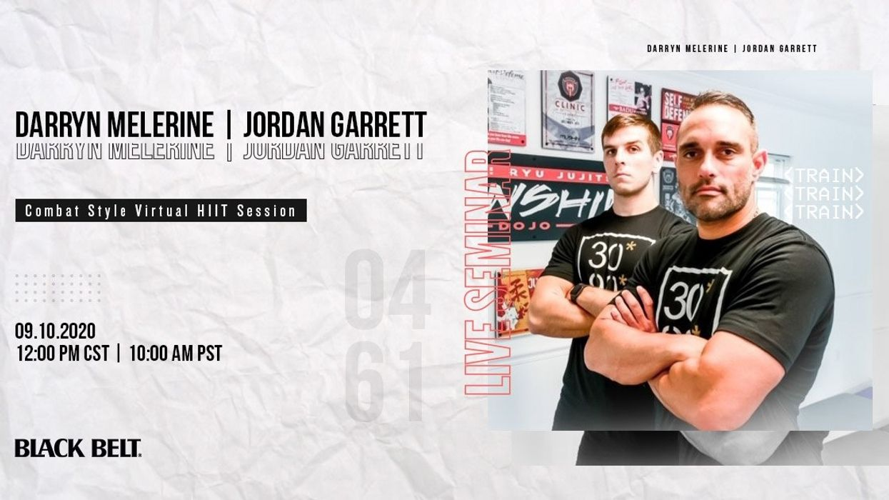 Live Combat-Style Workout Seminar with Darryn Melerine and Jordan Garrett