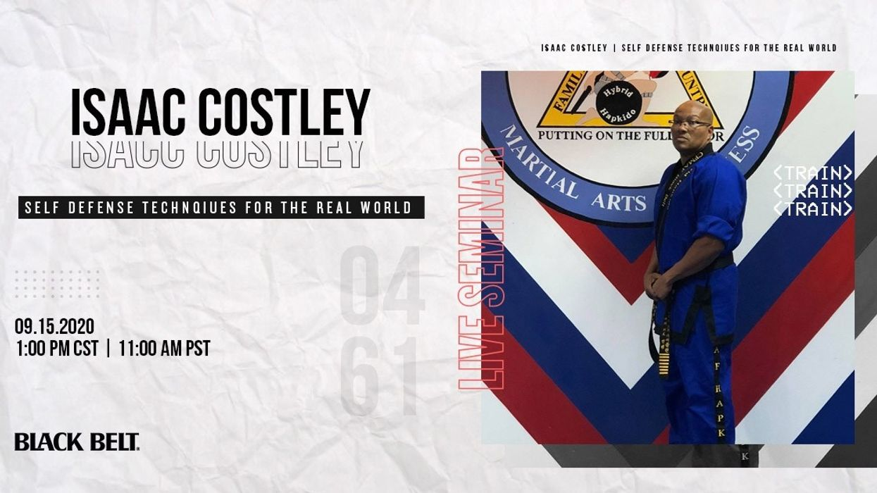 Live Hapkido Seminar with Isaac Costley