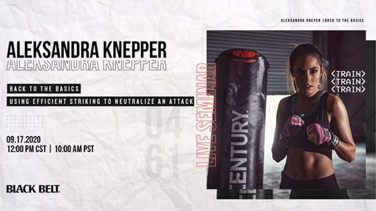 Live Self Defense Seminar with Aleksandra Knepper