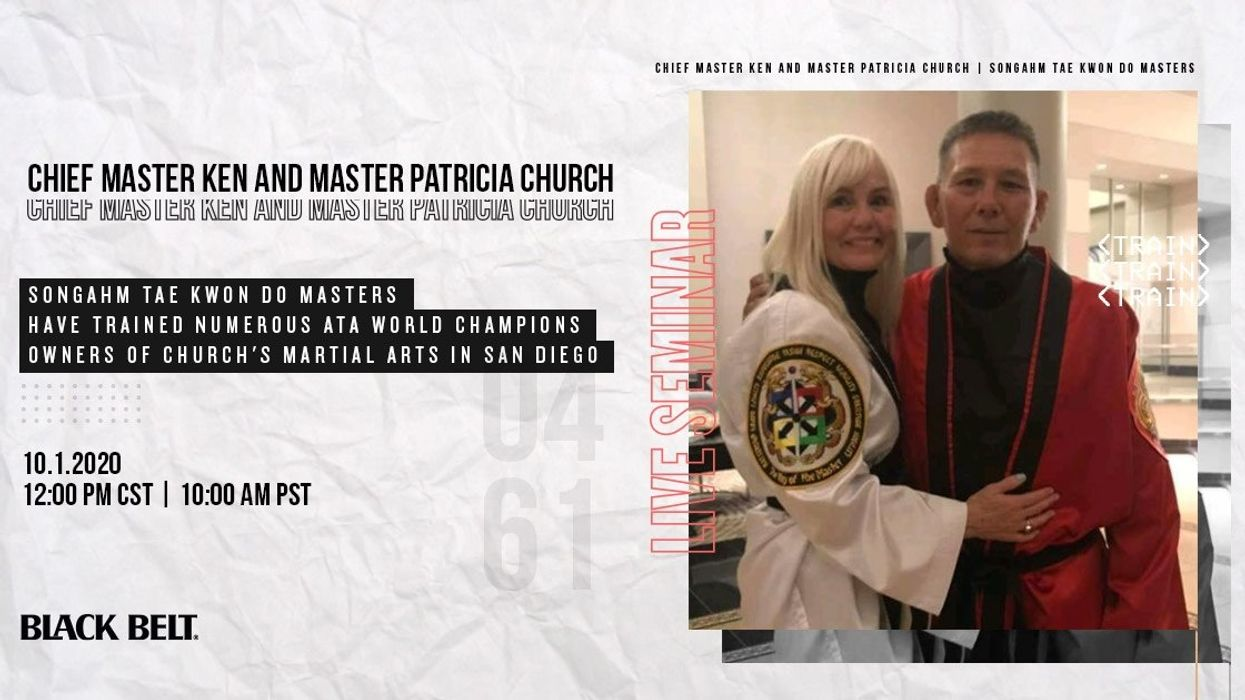 Live Songahm Tae Kwon Do Seminar with Ken and Patricia Church