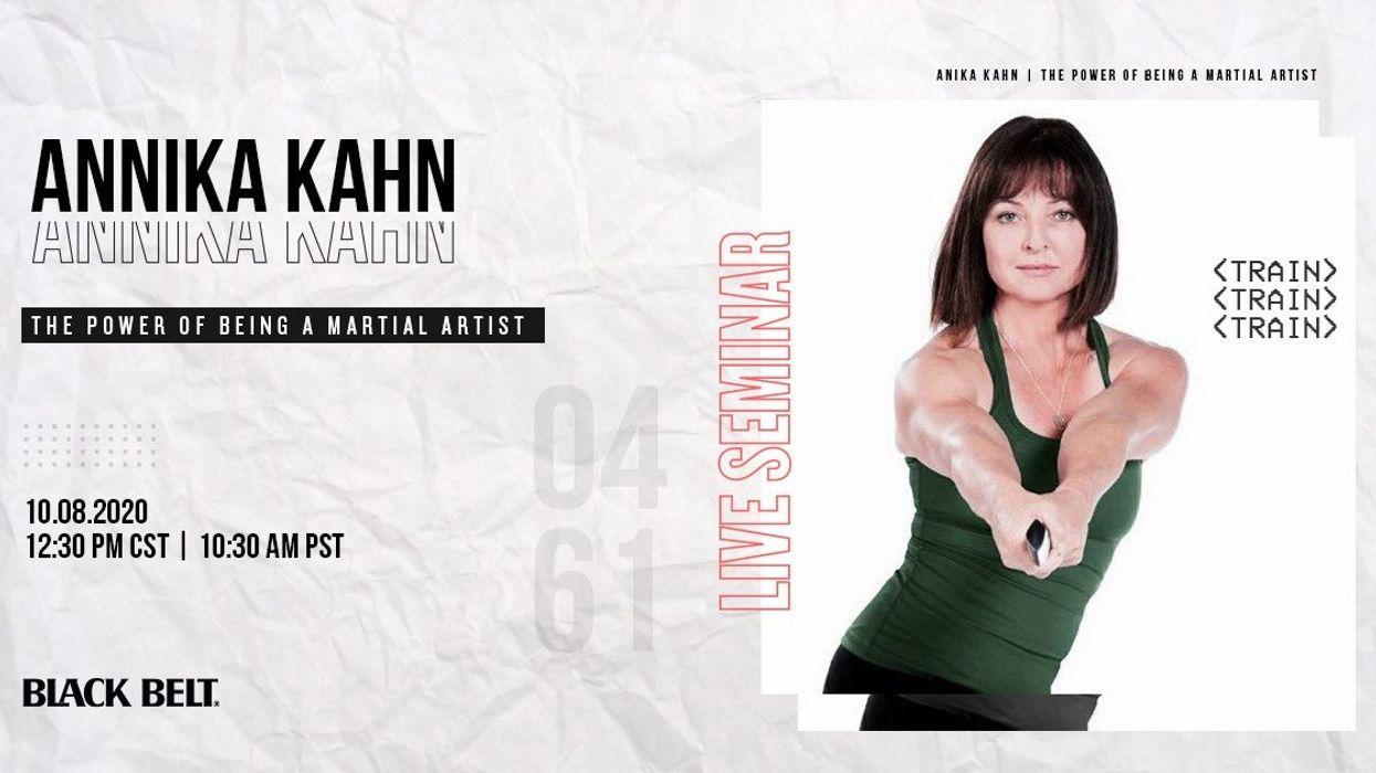 Live Jungshin Fitness Seminar with Annika Kahn