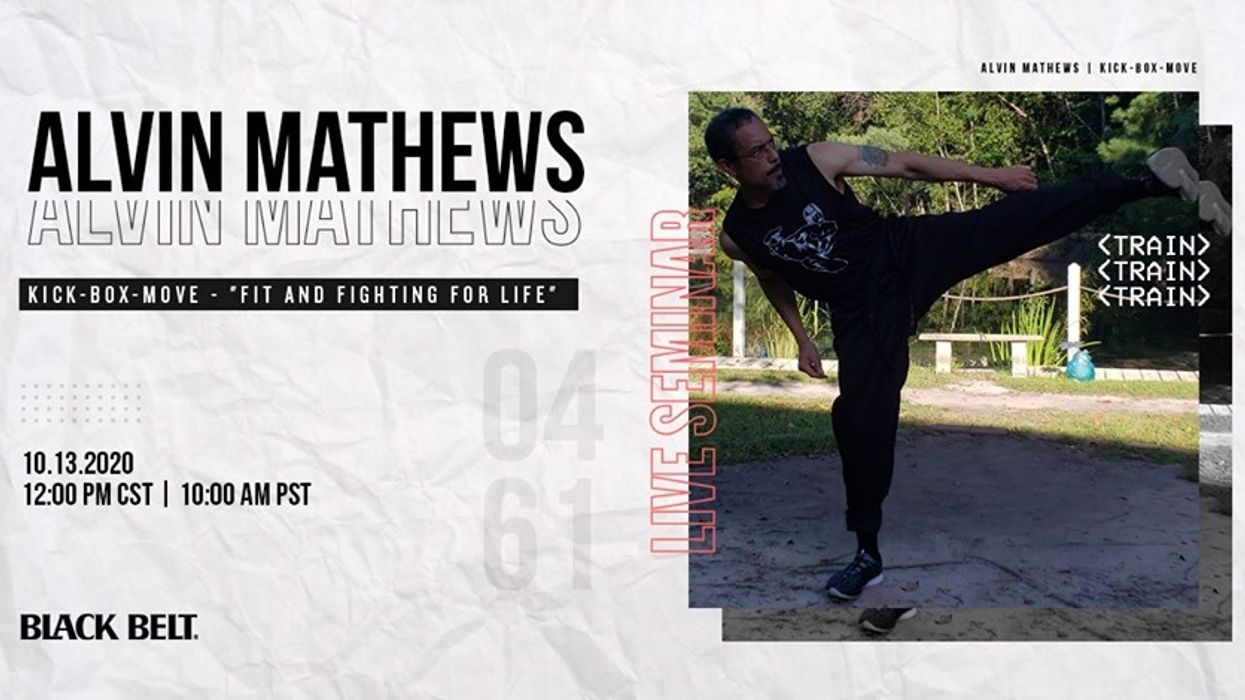 Live Kickboxing Fitness Seminar with Alvin Mathews