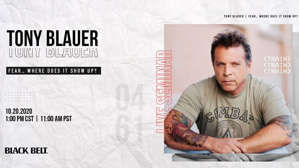 Live KNOW FEAR Seminar with Tony Blauer
