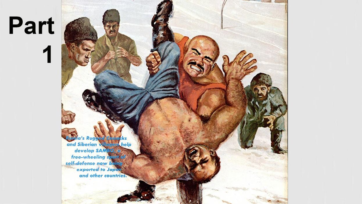 Classic Black Belt Article From 1967: Russia Prepares to Export Sambo (Part 1)