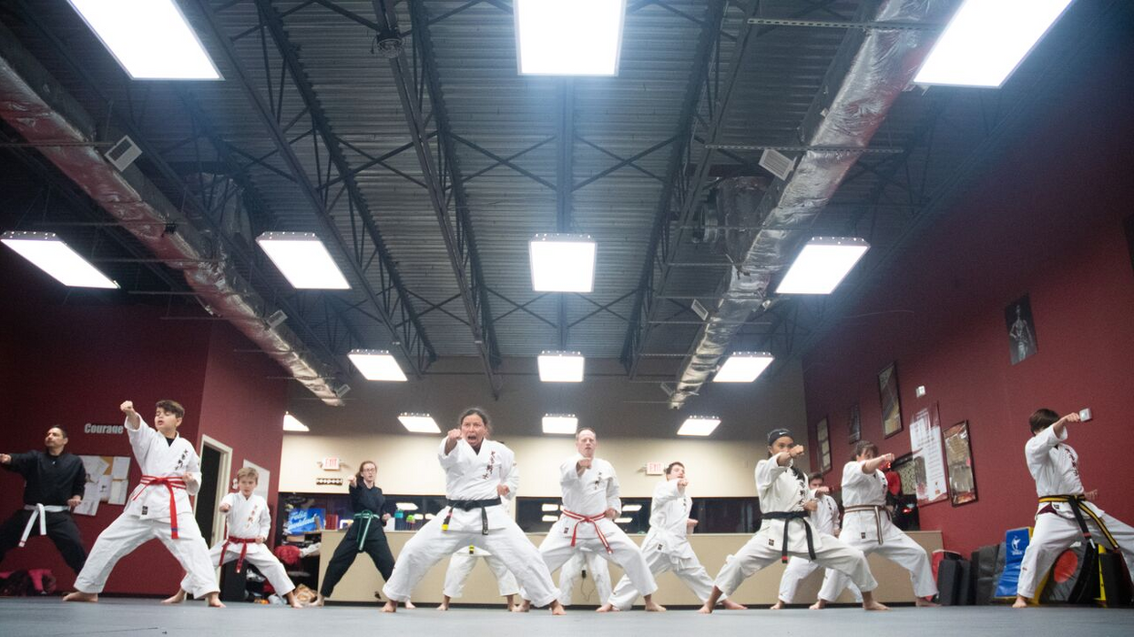 How Martial Arts Builds Courage