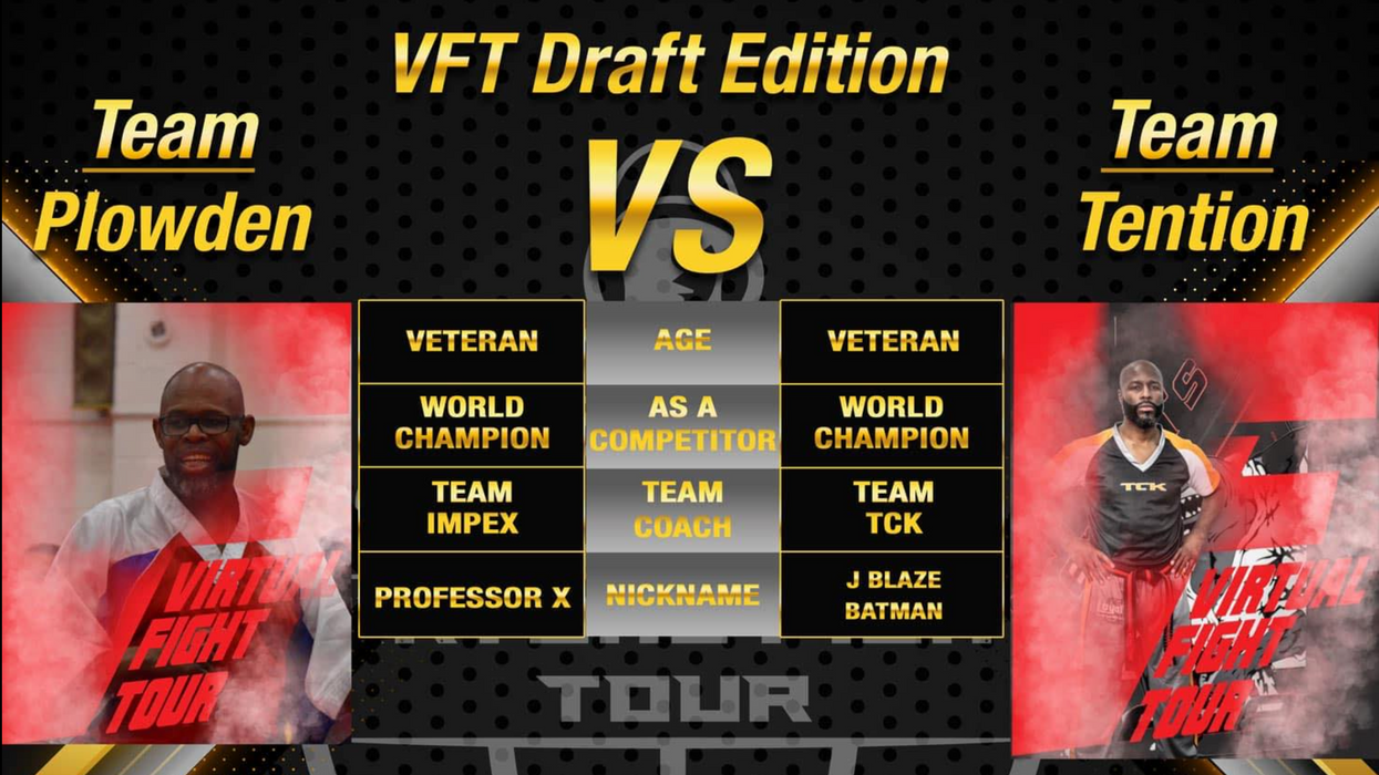 Virtual Fight Tour Draft: Plowden and Tention Finalize Rosters