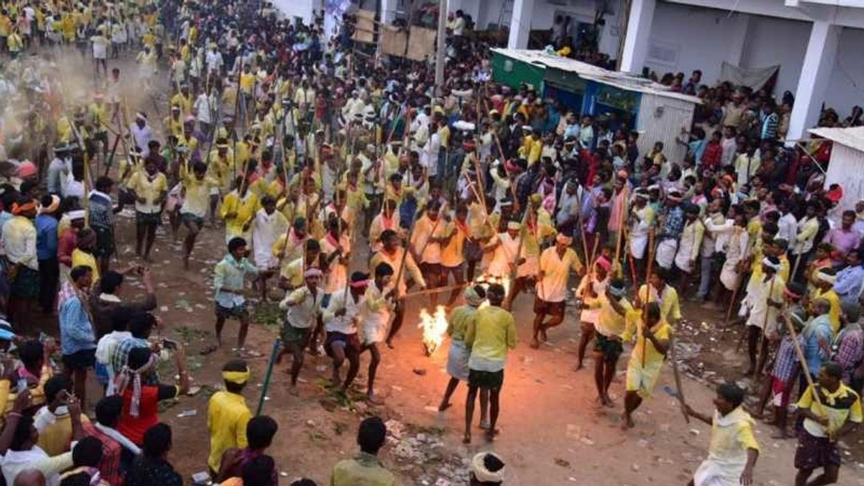 Indian Stick Fighting Festival