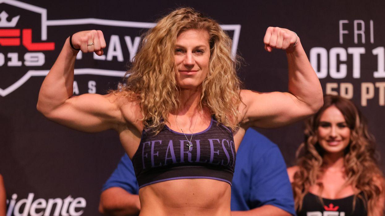 Kayla Harrison MMA TV