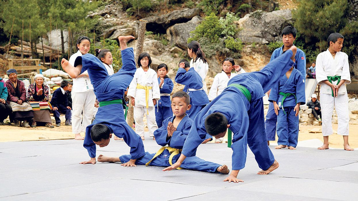 Mount Everest Judo