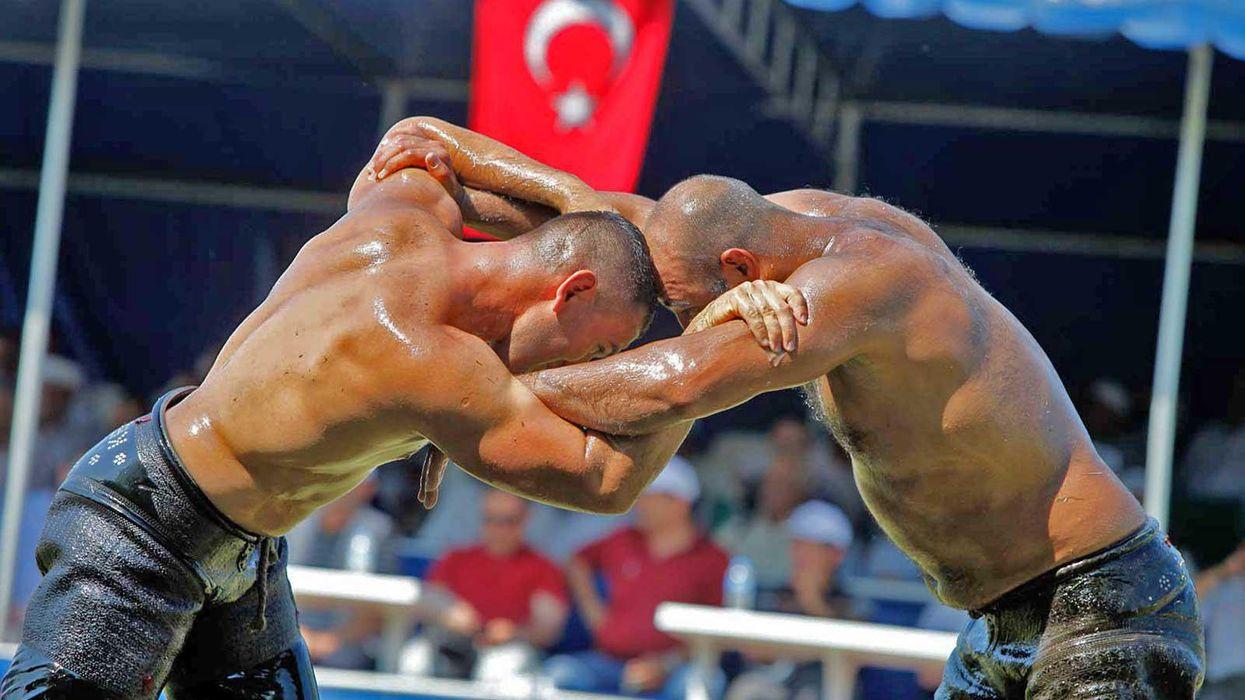 Oil Wrestling in Turkey