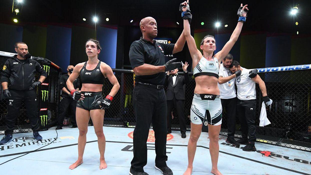 Rodriguez Dern UFC