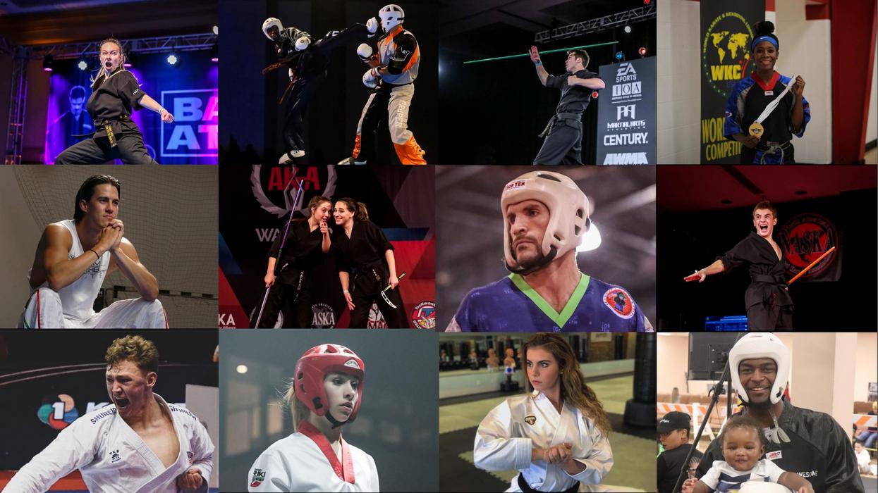 Sport Karate Athletes